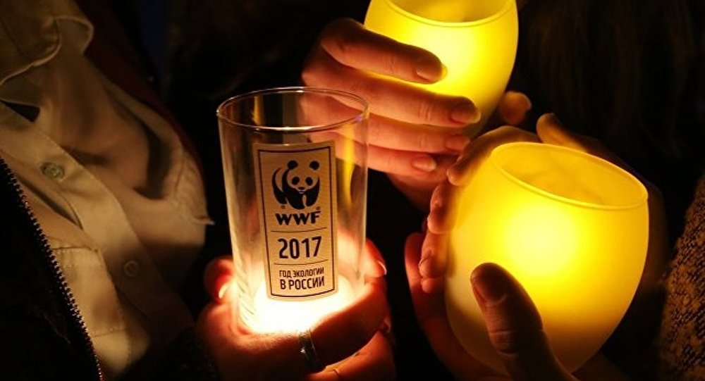 """莫斯科近两千座建筑24日将参与""""地球一小时""""熄灯活动"""