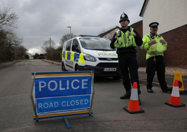 英國警方逮捕一名涉恐男子