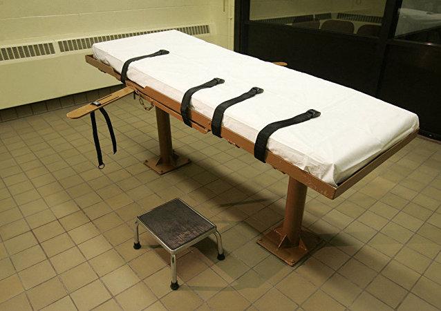Комната, где приводится в исполнение смертный приговор