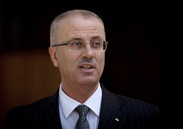 巴勒斯坦总理哈姆达拉