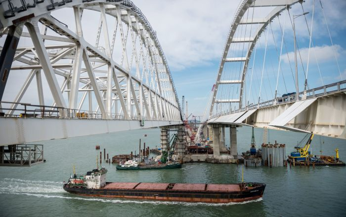 克里米亚大桥建设