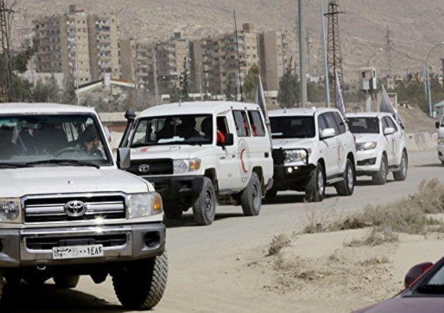 叙境内一昼夜有3400余名武装分子及其家属经两个人道走廊撤离
