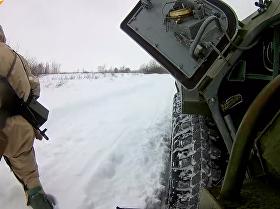 俄羅斯三防兵在庫爾斯克州舉行演習