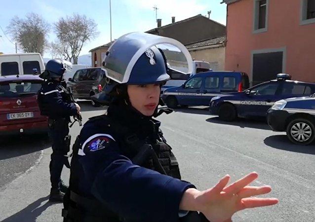 马克龙:在法国南部的袭击事件中有16人受伤