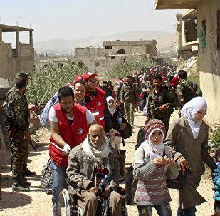 叙人道停火实施以来逾12.8万人撤离东古塔区