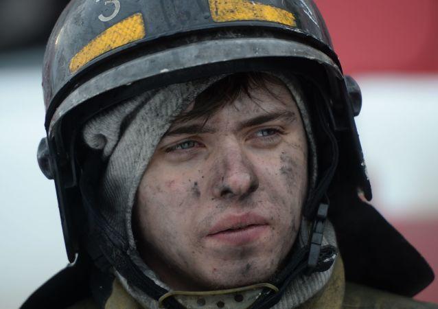 俄乌苏里斯克居民楼火灾中6人身亡