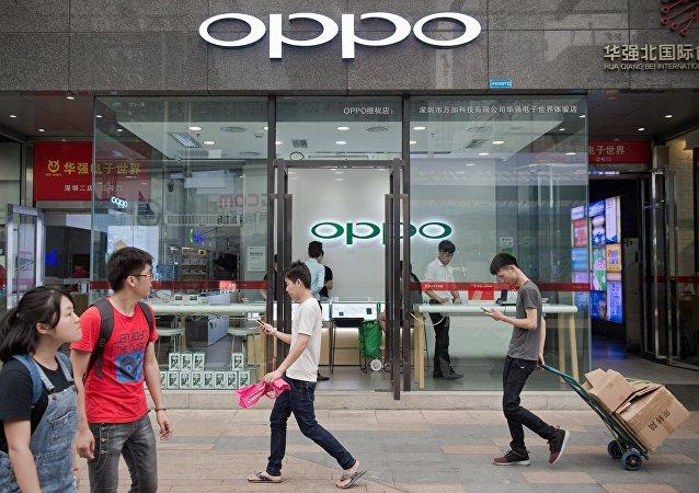 OPPO手机第二季度全球销量超越iPhone