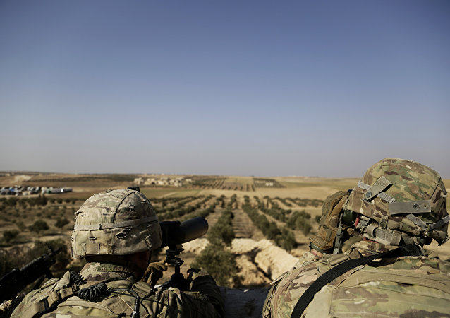 叙民主力量:美国正在代尔祖尔石油产地建大型军事基地