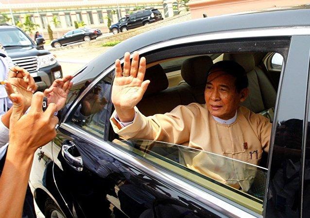 缅甸总统吴廷觉辞职不会影响该国外交政策