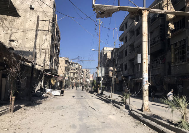 叙利亚东古塔地区大理石采石场开始满负荷生产