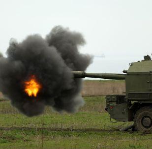 克拉斯诺达尔边疆区举行岸防导弹火炮系统操作组演习