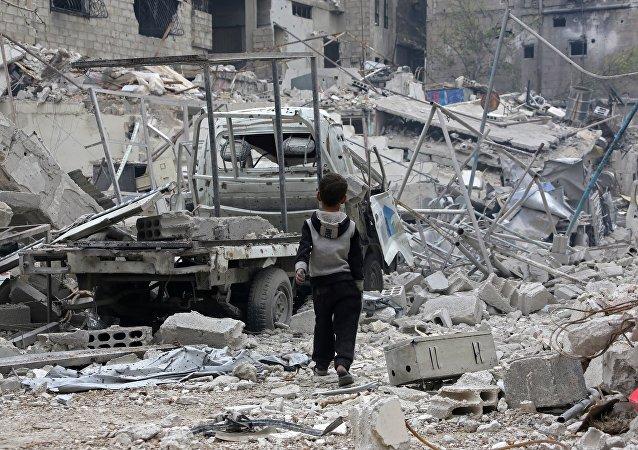 俄对联合国有关在叙东古塔地区犯下战争罪的报告持怀疑态度