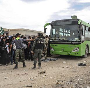 3月24日起逾1.1万名武装分子撤出叙四个居民点