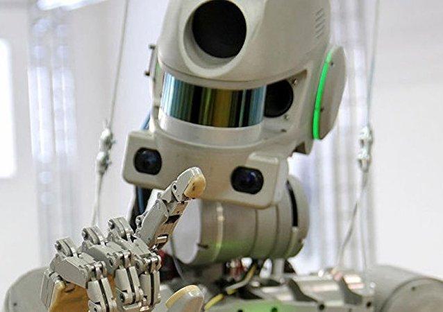 """俄""""费多尔""""型机器人"""
