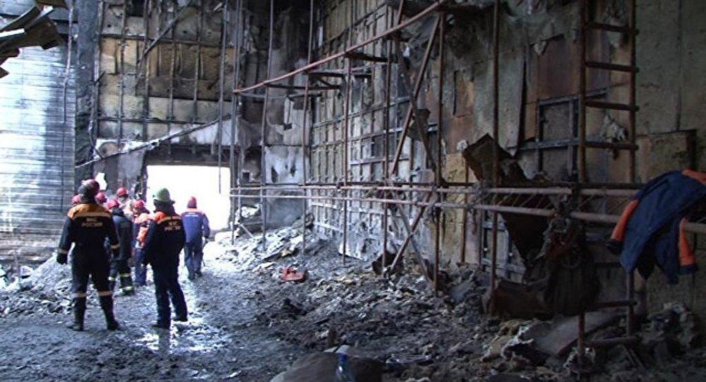 克麦罗沃火灾当天共从商场疏散700多人