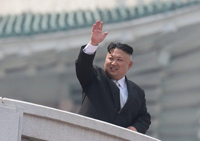 朝鲜领导人与国际奥委会主席讨论今后朝运动员参加奥运会相关事宜