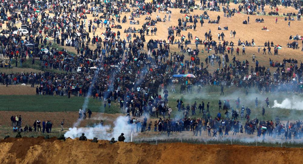 聯合國:加沙地帶衝突已導致87名巴勒斯坦人死亡 1.2萬人受傷
