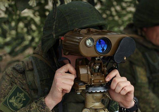 俄东部军区分队在千岛群岛举行战术演习