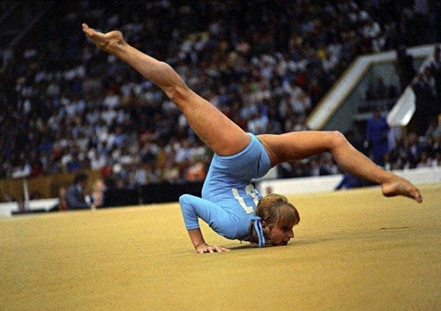 苏联体操运动员奥尔加·科尔布特