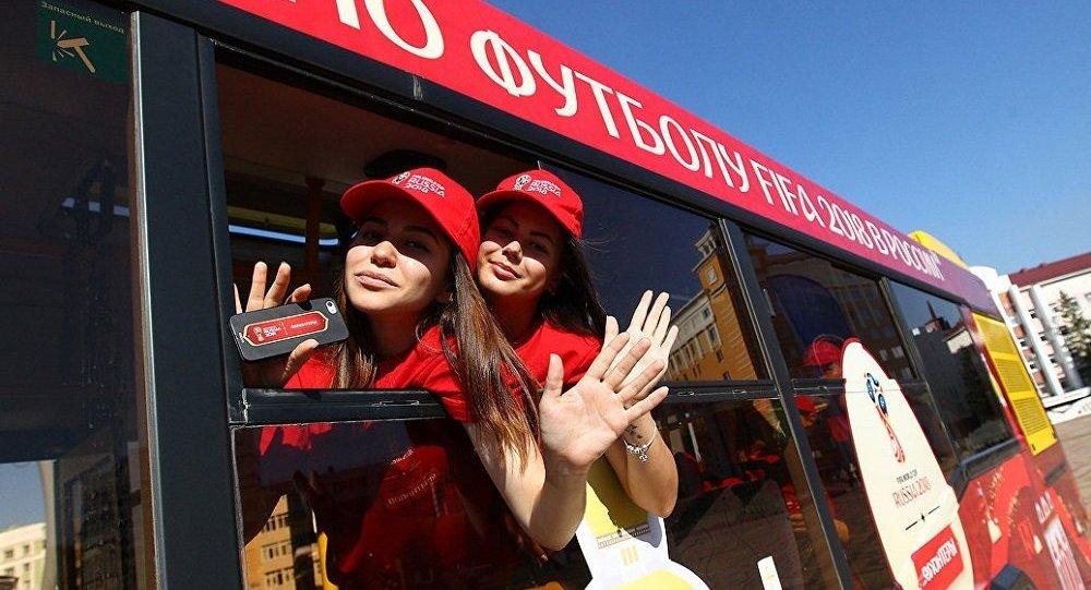 世界杯期间莫斯科将迎来6千名志愿者上岗服务