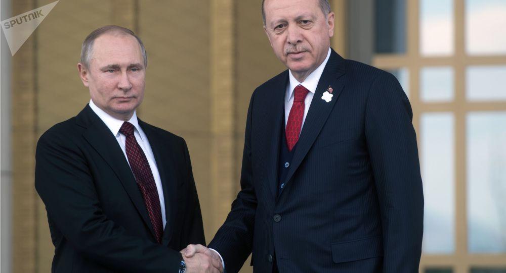 克宮:普京與埃爾多安就中東地區局勢升級通電話討論