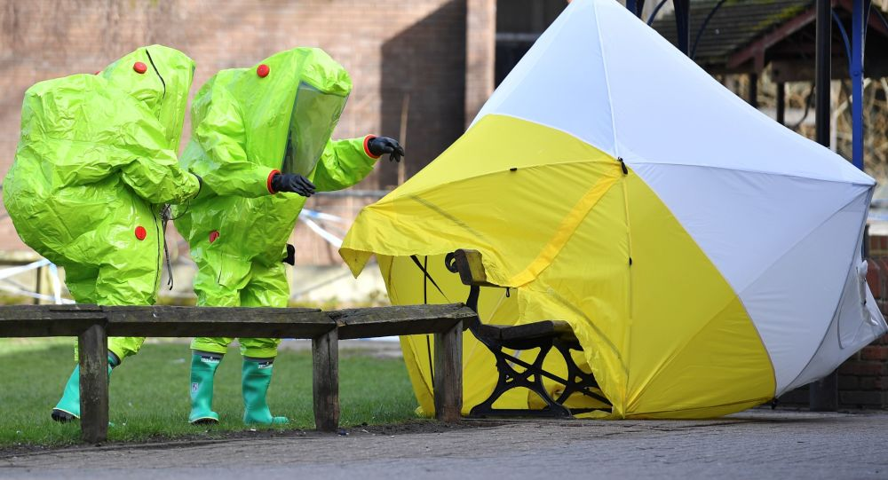 英國環境部稱導致斯克里帕利中毒的是一種液態物質