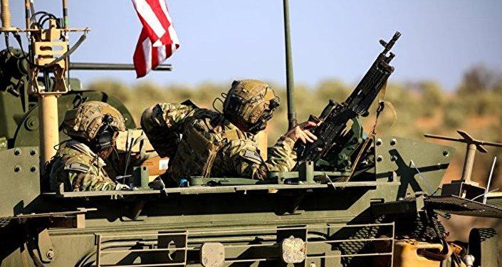 任何外國力量未經許可在敘存在都被視為侵略