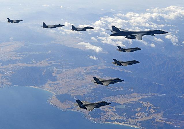 美軍尚未接到停止在韓國演習的指令