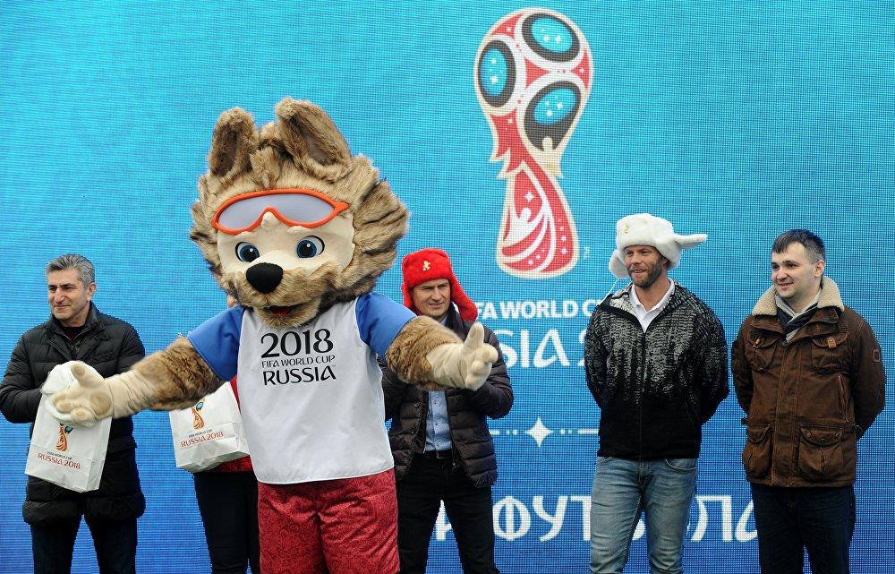 2018世界杯官方吉祥物