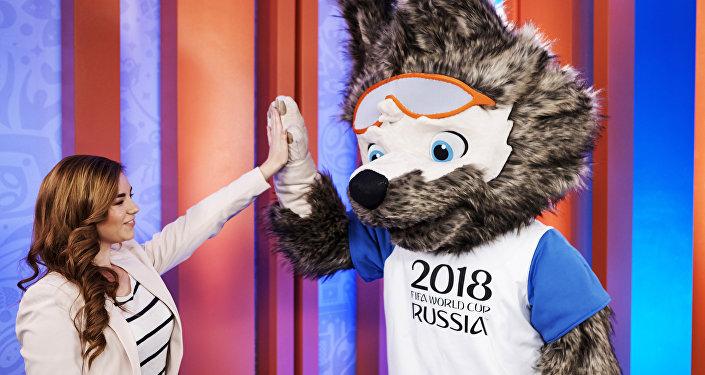 2018世界杯官方吉祥物作者叶卡捷琳娜·博恰罗娃