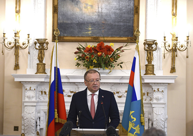 俄羅斯駐英國大使亞歷山大∙雅科文科