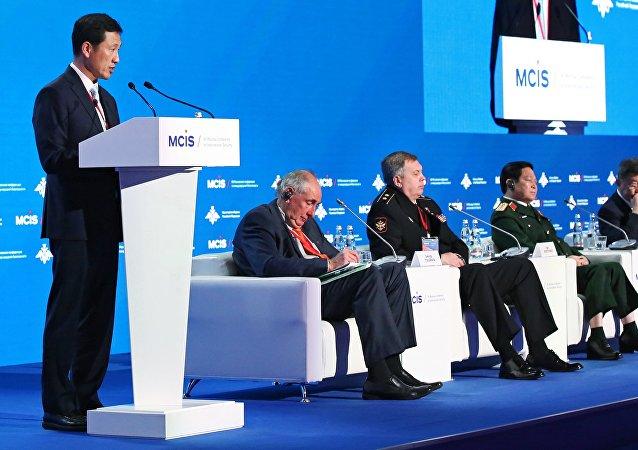 新加坡副防长:东盟将与中国举行联合海上演习 力促南海局势正常化