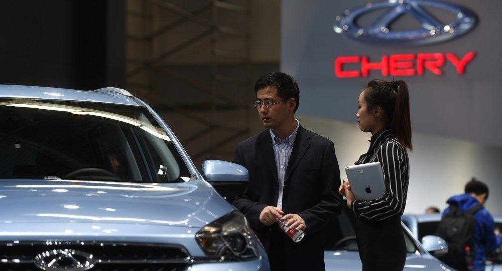 奇瑞在俄汽车销量增长25%