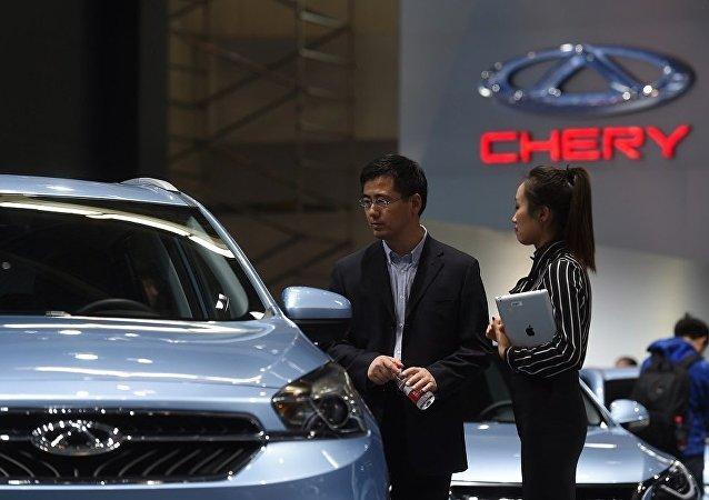 奇瑞汽车今年4月在俄销量同比增长31%
