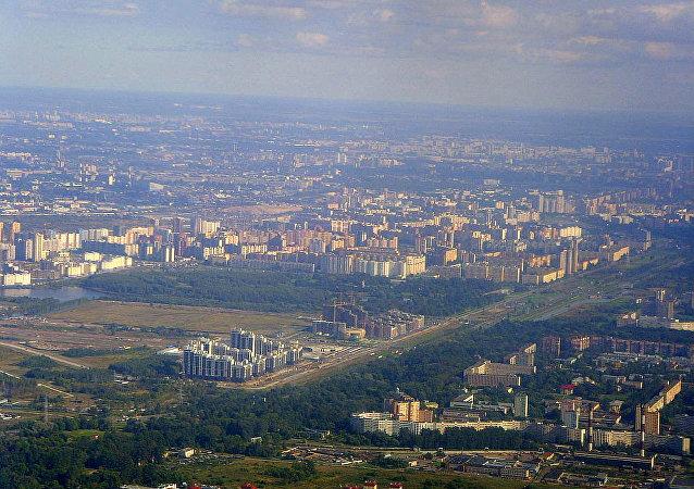 """圣彼得堡市""""波罗的海明珠""""住宅区"""