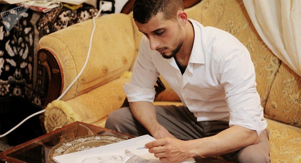 敘利亞:昨日之士兵,今日之畫家