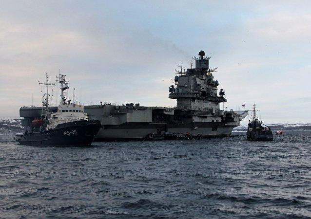 库兹涅佐夫海军上将号航空母舰