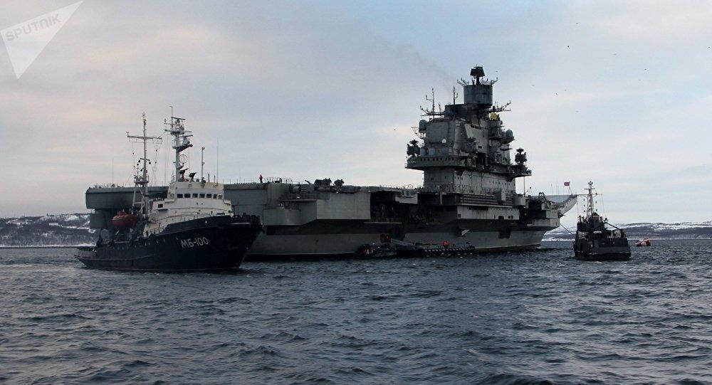 俄專家:庫茲涅佐夫號航母真的那麼差嗎?
