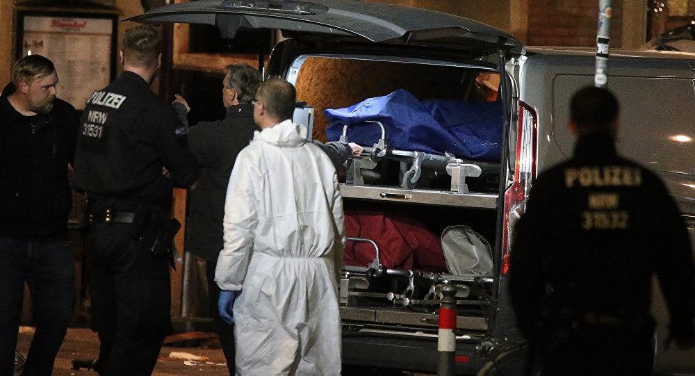 媒体:德国警方在明斯特货车撞人袭击者住所处发现一把自动步枪