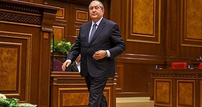 亞美尼亞新總統將宣誓就職