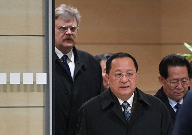朝鲜外相抵俄开展正式访问