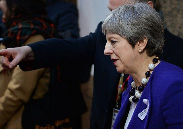 英国首相梅