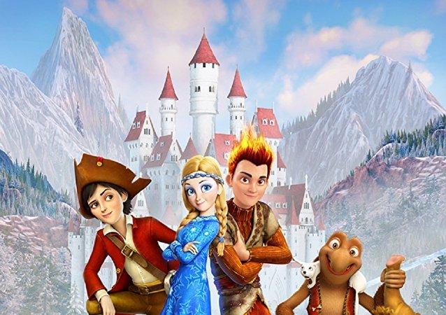 俄中合拍動畫電影《冰雪女王3:火與冰》在華票房超1000萬美元