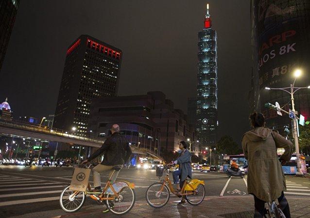 北京对美官方人士出席美在台协会台北办事处新址落成仪式感到不满