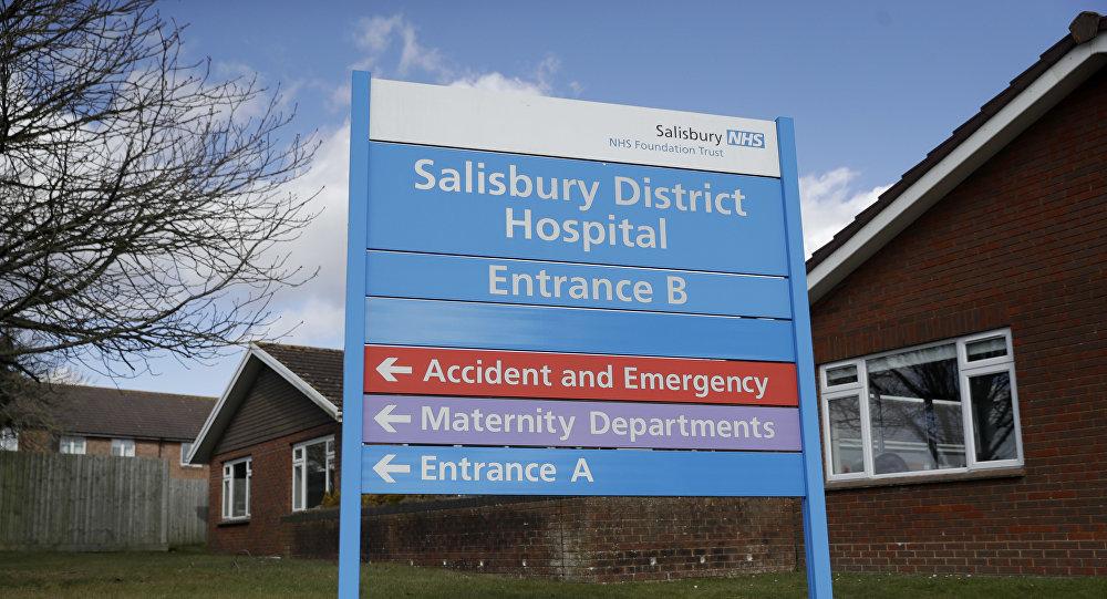 俄大使館稱,索爾茲伯里的醫院從未直接證實斯克里帕利有化學中毒症狀以及對此症狀進行過醫治