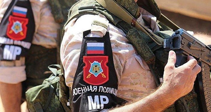 俄军警在叙利亚