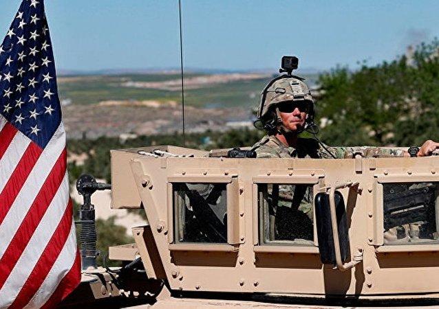 美军人在叙利亚