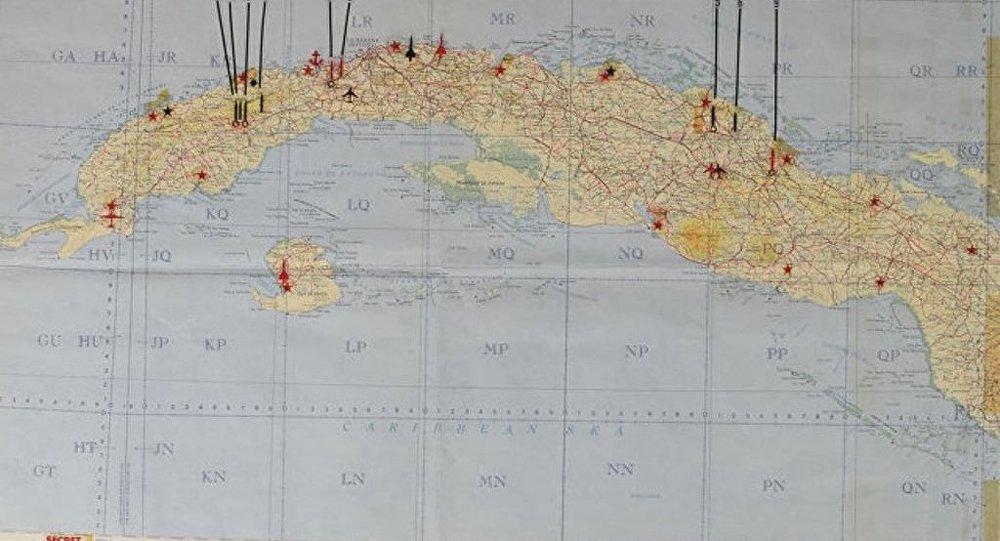 美國拍賣行將以11.3萬美元價格拍出古巴境內蘇聯軍事設施地圖