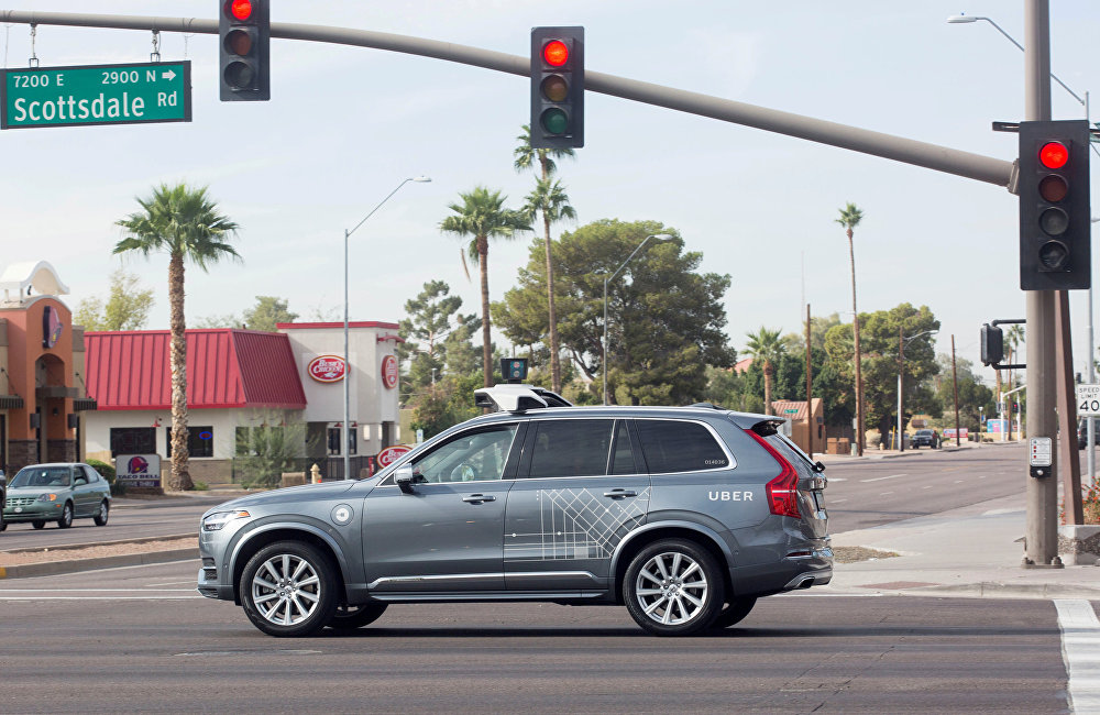 Uber自動駕駛汽車