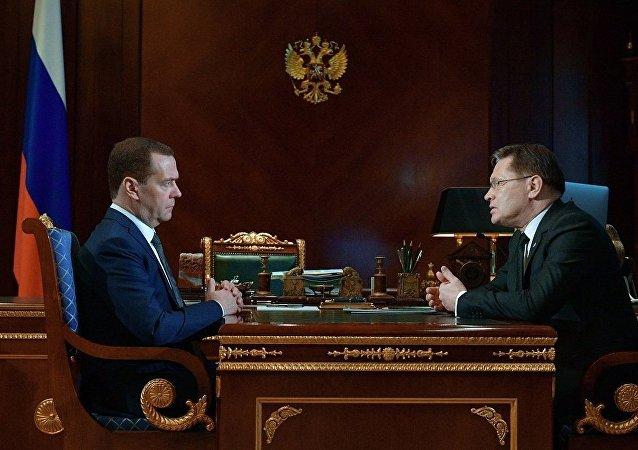 俄总理:政府将最大限度支持俄原子能集团在世界市场上推广
